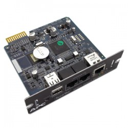 APC - SCHNEIDER UPS Network Management Card 2 with Envir