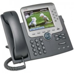 Cisco IP Phone 7975 Gig Ethernet Color