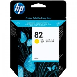 HP 82 69ml Yellow Ink Cart C4913A