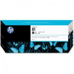 HP 81 680ml Black Dye Ink Cart C4930A