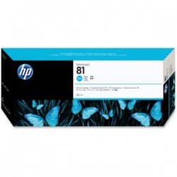 HP 81 680ml Cyan Dye Ink Cart C4931A