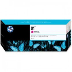 HP 81 680ml Magenta Dye Ink Cart C4932A