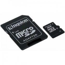 KINGSTON 8GB SDHC MicroSD Class 4 MEM Card