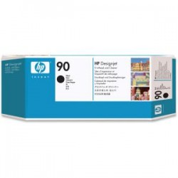 HP 90 Black Printhead and Cleaner C5054A
