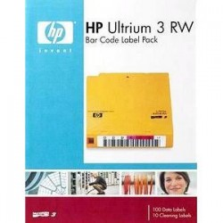 HPE HP LTO3 Ultr RW Barcode Label Pack 100's