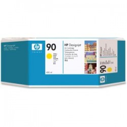 HP 90 400ml Yellow Ink Cartridge