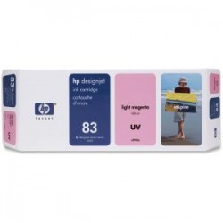 HP 83 UV 680ml Lt Magenta Ink Cart C4945A