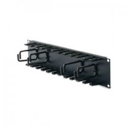 APC - SCHNEIDER Horizontal Cable Organizer 2U w/cable fi