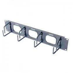 APC - SCHNEIDER Horizontal Cable Organizer 2U w/pass thr