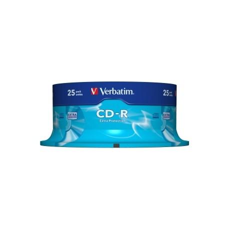 VERBATIM CD-R 25pk Spindle 52x