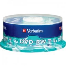VERBATIM DVD-RW 30pk Spindle