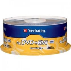 VERBATIM DVD+RW 30pk Spindle