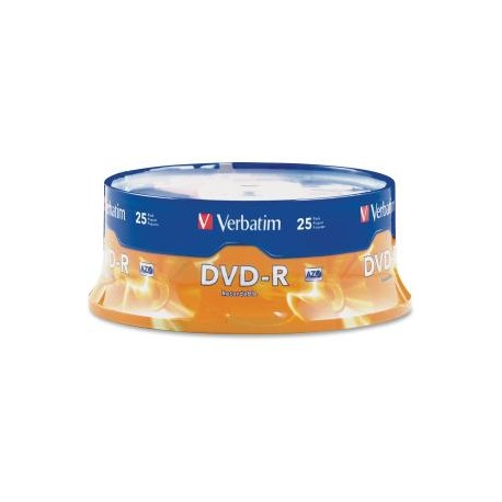 VERBATIM DVD-R 25pk Spindle