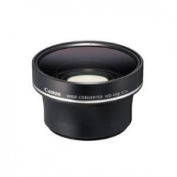 CANON WDH58 WIDE ANGLE LENS CONVERTOR FOR HFS1