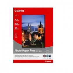 CANON SG201A3 PHOTO PAPER+SEMI-GLOSS A3 20PK