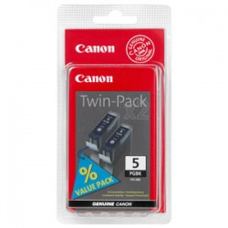 CANON PGI5BK PIGMENT BLACK INK CART TWIN PACK