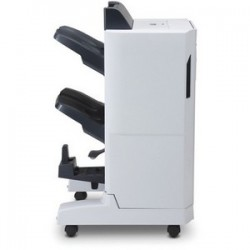HP booklet maker/finisher W/ output acc br