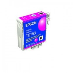 EPSON T0753 C59 INK CARTRIDGE MAGENTA