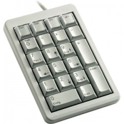 CHERRY NUM KEYPAD 21 KEYS LIGHT GREY USB