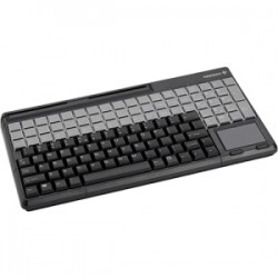 CHERRY MPOS 12IN KEYBD 83 PROGRM KEYS BLACK USB