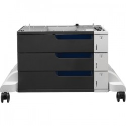 HP 3x500-sheet Paper Feeder and Stand