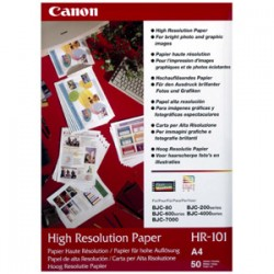 CANON HR101N A4 200 SHTS 110 GSM HI RES PPR