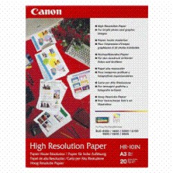 CANON HR101NA3 100 SHEETS 110 GSM HI RES PPR