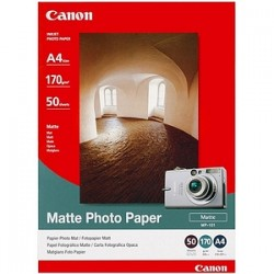CANON MP101 A4 50 SHEETS 170 GSM MATTE PAPER