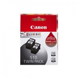 CANON PG510-TWIN PG510 BLACK CARTRIDGE X 2