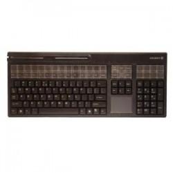 CHERRY TIPRO LPOS Qwerty Touch Pad MSR 127 Keys Black