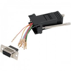 STARTECH DB9 to RJ45 Modular Adapter - F/F