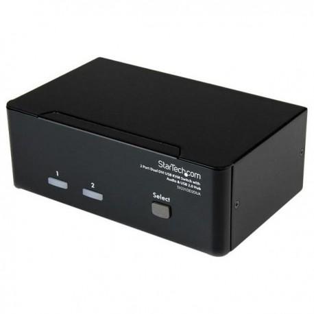 STARTECH 2 Port Dual DVI USB KVM Switch