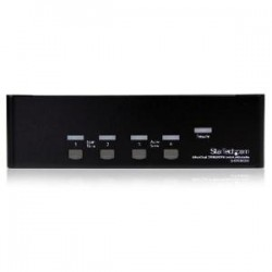 STARTECH 4 Port Dual DVI USB KVM Switch