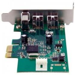 STARTECH 2b 1a LP PCI Express FireWire Card