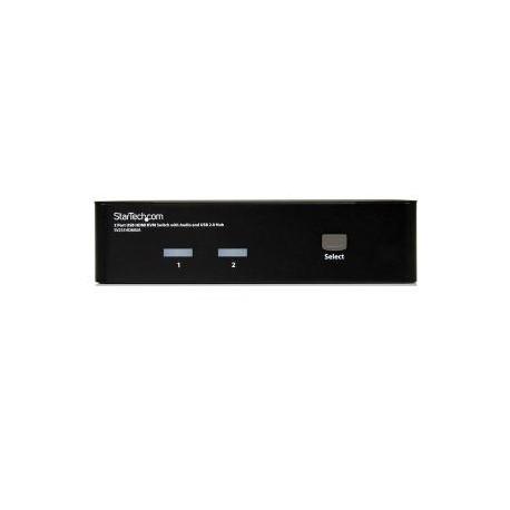 STARTECH 2 Port USB HDMI KVM Switch w/ Audio