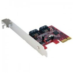 STARTECH 2 Port PCIe SATA 6 Gbps Controller Card