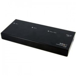 STARTECH 2 Port DVI Video Splitter with Audio