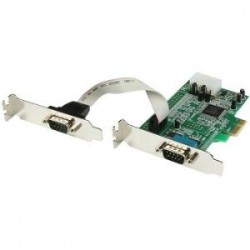 STARTECH 2 Port PCI Express Serial Card LP