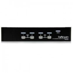 STARTECH 4 Port 1U Rackmount USB KVM Switch