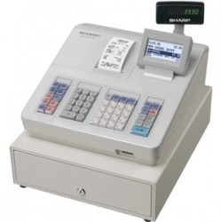 SHARP XEA207W CASH REGISTER/RAISED KEYBD/WHITE