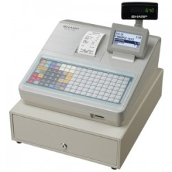 SHARP XEA217W CASH REGISTER/ FLAT KEYBD/ WHITE
