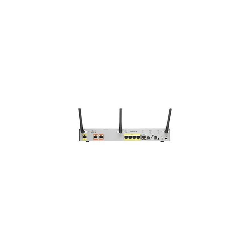 Cisco 881 Eth Sec Router with 802 11n - I NET AU