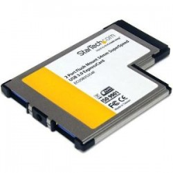 STARTECH Flush Mount ExpressCard 54mm USB 3 Card