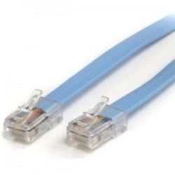 STARTECH 6 ft Cisco Console Rollover Cable - M/M