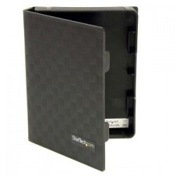 STARTECH 3x2.5 Anti-Static HDD Protector Case Bk