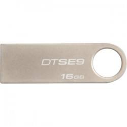 KINGSTON 16GB USB 2.0 DataTraveler SE9 Silver Met