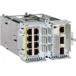 CISCO EtherSwitch 8x 10/100T (4 PoE) ports + 2