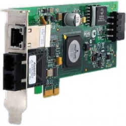 ALLIED TELESIS 100Mbps Fast Ethernet PCI-Express Fiber