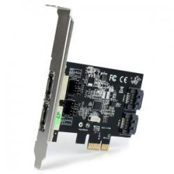 STARTECH 2Port PCIe SATA III eSATA Controller