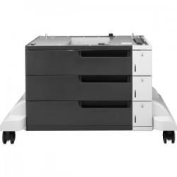 HP LASERJET 3x500-SHEET FEEDER & STAND